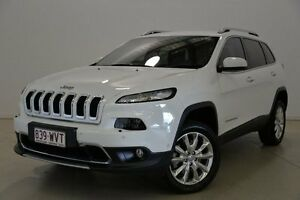 2014 Jeep Cherokee KL MY15 Limited White 9 Speed Sports Automatic Wagon Mansfield Brisbane South East Preview