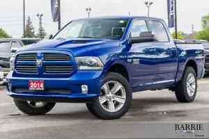 2014 Ram Ram 1500 ***SPORT***CREW CAB***2.5 LEVEL KIT***