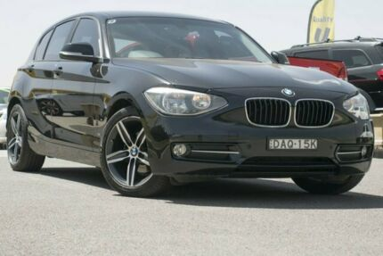 2013 BMW 118d F20 Black 8 Speed Sports Automatic Hatchback Pearce Woden Valley Preview