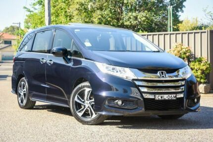 2015 Honda Odyssey RC MY15 VTi-L Black 7 Speed Constant Variable Wagon Greenacre Bankstown Area Preview
