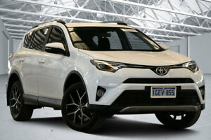 2016 Toyota RAV4 ZSA42R MY16 GXL (2WD) Glacier White Continuous Variable Wagon Perth Airport Belmont Area Preview