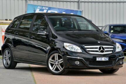 2011 Mercedes-Benz B180 W245 MY11 Anniversary Black 1 Speed Constant Variable Hatchback