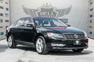 2014 Volkswagen Passat Sedan HIGHLINE NAVIGATION SUNROOF LEATHER