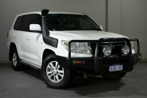 2008 Toyota Landcruiser VDJ200R GXL White 6 Speed Sports Automatic Wagon Bayswater Bayswater Area Preview