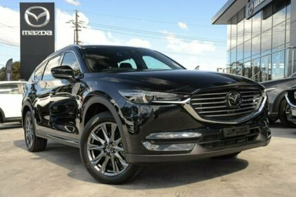2019 Mazda CX-8 CX8BAW5CDA4 Asaki (AWD) (5Yr) Jet Black 6 Speed Automatic Wagon Liverpool Liverpool Area Preview