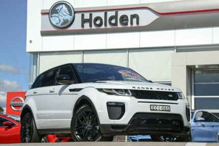 2017 Land Rover Range Rover Evoque L538 MY18 SD4 240 HSE Dynamic Yulong White 9 Speed Liverpool Liverpool Area Preview
