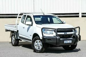 2014 Holden Colorado LX CREW CAB 4X2 RG MY14 White Manual Cab Chassis Cannington Canning Area Preview