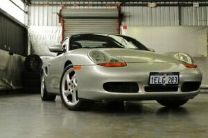 1999 Porsche Boxster 986 MY00 S Arctic Silver 5 Speed Sports Automatic Convertible Myaree Melville Area Preview