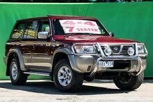 2000 Nissan Patrol GU TI (4x4) Maroon 4 Speed Automatic 4x4 Wagon Ringwood East Maroondah Area Preview