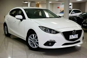 2016 Mazda 3 BM5478 Maxx SKYACTIV-Drive White 6 Speed Sports Automatic Hatchback South Melbourne Port Phillip Preview
