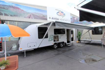 Avida Caravan - Sapphire CV6624L #5113 Windale Lake Macquarie Area Preview