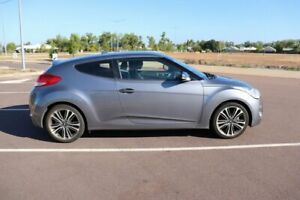 2015 Hyundai Veloster FS4 Series II + Coupe Silver 6 Speed Automatic Coupe Gunn Palmerston Area Preview