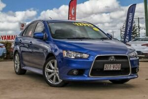 2015 Mitsubishi Lancer CJ MY15 GSR Sportback Blue 5 Speed Manual Hatchback Gympie Gympie Area Preview