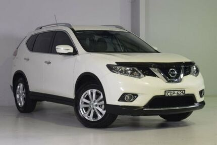2016 Nissan X-Trail T32 ST-L X-tronic 2WD White 7 Speed Constant Variable Wagon Wadalba Wyong Area Preview