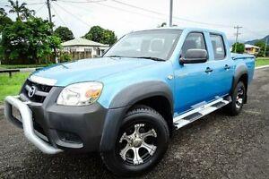 2008 Mazda BT-50 UNY0E4 DX Blue Manual Utility Bungalow Cairns City Preview