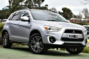 2015 Mitsubishi ASX XB MY15.5 XLS 2WD Silver 6 Speed Constant Variable Wagon Berwick Casey Area Preview