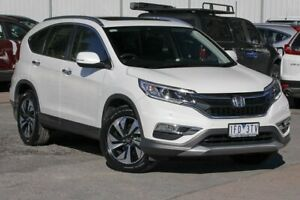 2015 Honda CR-V RM Series II MY16 VTi-L 4WD White 5 Speed Sports Automatic Wagon Ferntree Gully Knox Area Preview