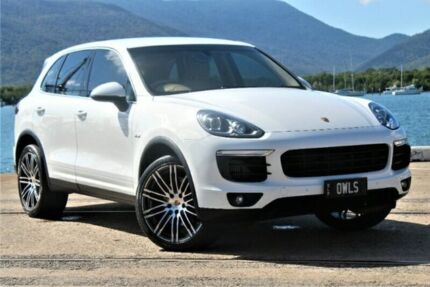 2016 Porsche Cayenne 92A MY16 Diesel Tiptronic White 8 Speed Sports Automatic Wagon Portsmith Cairns City Preview