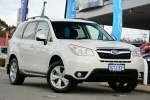 2014 Subaru Forester S4 MY14 2.5i-L Lineartronic AWD Satin White Pearl 6 Speed Constant Variable