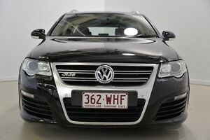 2009 Volkswagen Passat Type 3C MY10 R36 DSG 4MOTION Black 6 Speed Sports Automatic Dual Clutch Wagon Mansfield Brisbane South East Preview