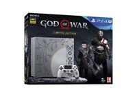 **SEALED** PS4 PRO 1TB GOD OF WAR LIMITED EDITION BUNDLE BRAND NEW PLAYSTATION PRO & 1 YEAR WARRANTY