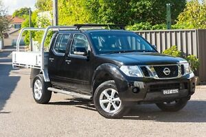 2013 Nissan Navara D40 S6 MY12 ST Black 5 Speed Sports Automatic Utility Greenacre Bankstown Area Preview