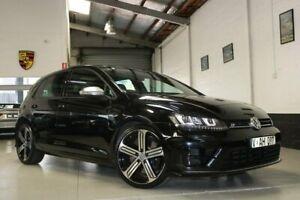2014 Volkswagen Golf VII MY14 R DSG 4MOTION Black 6 Speed Sports Automatic Dual Clutch Hatchback West Melbourne Melbourne City Preview