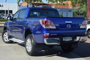 2013 Mazda BT-50 UP0YF1 XTR 4x2 Hi-Rider Blue 6 Speed Sports Automatic Utility Waitara Hornsby Area Preview