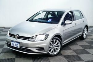 2017 Volkswagen Golf AU MY18 110 TSI Comfortline Silver 7 Speed Auto Direct Shift Hatchback Edgewater Joondalup Area Preview
