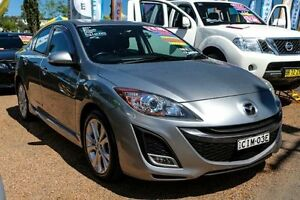 2010 Mazda 3 BL10L1 SP25 Silver 6 Speed Manual Sedan Colyton Penrith Area Preview
