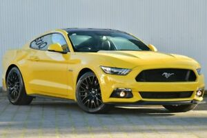 2017 Ford Mustang FM 2017MY GT Fastback SelectShift Yellow 6 Speed Sports Automatic Fastback Dandenong Greater Dandenong Preview
