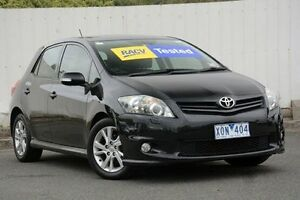 2010 Toyota Corolla Black Automatic Hatchback Lilydale Yarra Ranges Preview