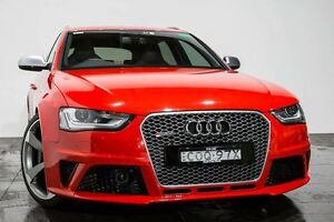 2013 Audi RS4 B8 8K Avant S tronic quattro Red 7 Speed Sports Automatic Dual Clutch Wagon Rozelle Leichhardt Area Preview