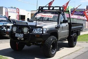 2007 Nissan Patrol GU 6 MY08 ST Grey 5 Speed Manual Cab Chassis Altona North Hobsons Bay Area Preview