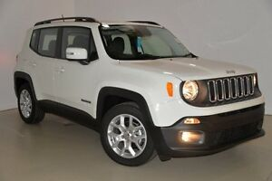 2015 Jeep Renegade BU MY15 Longitude DDCT White 6 Speed Sports Automatic Dual Clutch Hatchback Mansfield Brisbane South East Preview