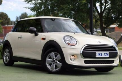 2015 Mini Hatch F56 One White 6 Speed Automatic Hatchback