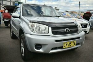 2004 Toyota RAV4 ACA23R CV Silver 5 Speed Manual Wagon Liverpool Liverpool Area Preview