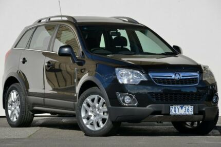 2013 Holden Captiva CG MY12 5 (FWD) Carbon Flash Black 6 Speed Automatic Wagon