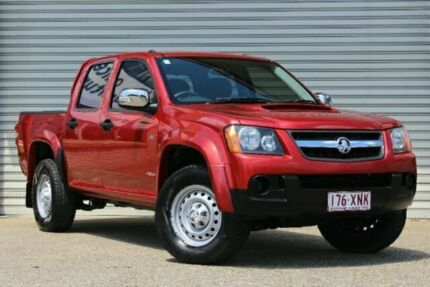 2008 Holden Colorado RC LX Crew Cab Red 5 Speed Manual Utility