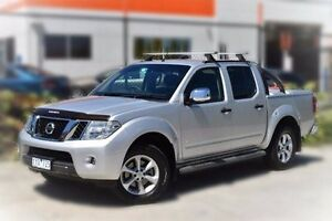 2011 Nissan Navara D40 S6 MY12 ST-X 550 Silver 7 Speed Sports Automatic Utility Berwick Casey Area Preview