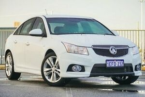 2013 Holden Cruze JH MY13 SRi V White 6 Speed Automatic Sedan Wangara Wanneroo Area Preview