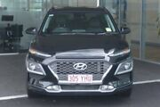 2018 Hyundai Kona OS MY18 Highlander D-CT AWD Black 7 Speed Sports Automatic Dual Clutch Wagon Tweed Heads South Tweed Heads Area Preview