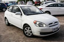 2006 Hyundai Accent LC MY04 GL White 5 Speed Manual Hatchback Embleton Bayswater Area Preview