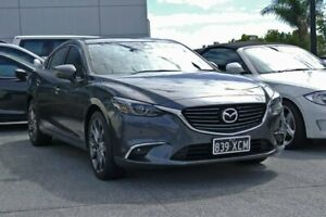 2017 Mazda 6 GL1031 GT SKYACTIV-Drive Grey 6 Speed Sports Automatic Sedan Capalaba Brisbane South East Preview