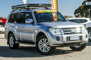 2012 Mitsubishi Pajero NW MY12 Exceed Silver 5 Speed Sports Automatic Wagon Cannington Canning Area Preview