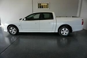 2007 Holden Crewman VZ MY06 Upgrade S White 4 Speed Automatic Crew Cab Utility Woodridge Logan Area Preview