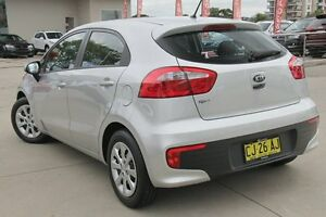 2015 Kia Rio UB MY16 S Silver 4 Speed Automatic Hatchback Waitara Hornsby Area Preview