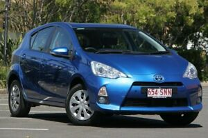 2012 Toyota Prius c NHP10R E-CVT Blue 1 Speed Constant Variable Hatchback Hybrid Chermside Brisbane North East Preview