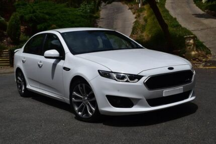 2015 Ford Falcon FG X XR6 White 6 Speed Sports Automatic Sedan St Marys Mitcham Area Preview