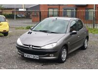Peugeot 206 1.6 (Cheap car for everyday use)